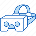 ar, augmented reality, cardboard, headset, oculus, virtual reality, vr icon