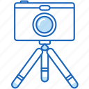 camera, digital, photo, photography, photos, tripod icon