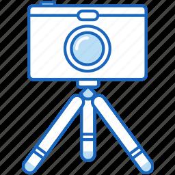 camera, digital, photo, photography, photos, tripod icon