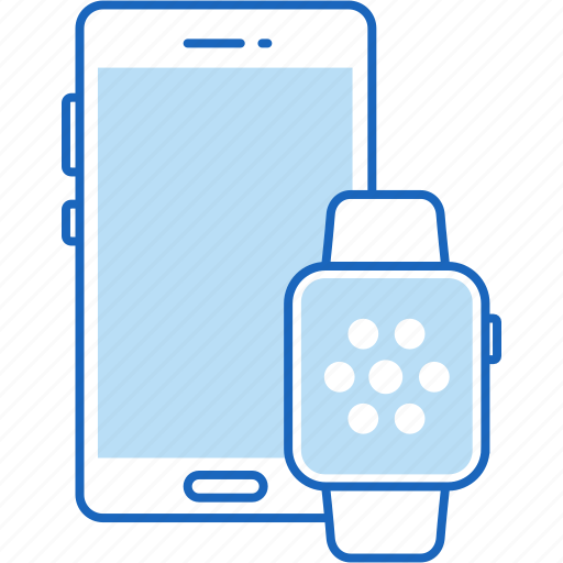 iphone, iwatch, mobile, phone, smart, smartphone, watch icon