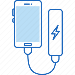 bank, battery, charge, charging, energy, external, power icon