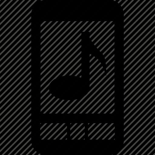 audio, ipod, mp3, music, note, play, ringtone, sound icon