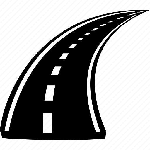 driveway, highway, road, roadway, transport, travel, way icon