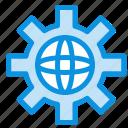 globe, setting, technical, world