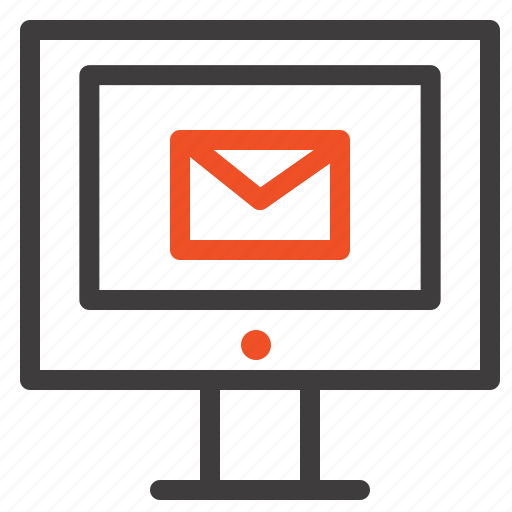 chat, computer, mail, service icon