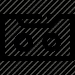 audio, tape icon