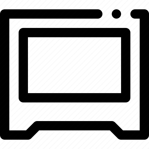 computer, monoblock icon