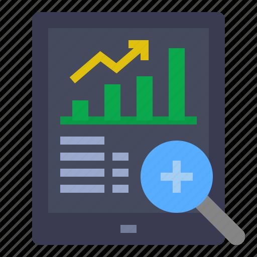 analysis, chart, data analytic, report, statistics, technologies disruption icon