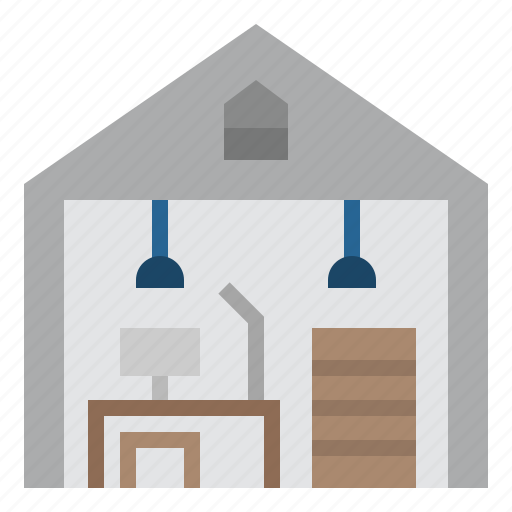 architecture, building, homeoffice, office, technologies disruption, workplace icon