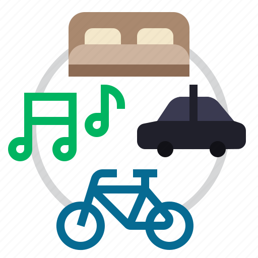 bike, gig economy, reserve, sharing, sharing economy, song, technologies disruption icon