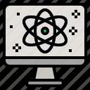 algorithm, computer, future, quantum, quantum computing, technology, technology disruption icon