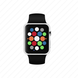alarm, apple, applewatch, clock, smart, smartwatch, watch icon