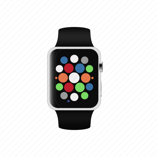 applewatch, clock, smartwatch, watch icon