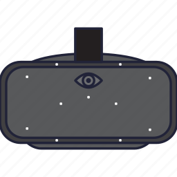 bay, crescent, device, oculus, oculus rift, virtual icon