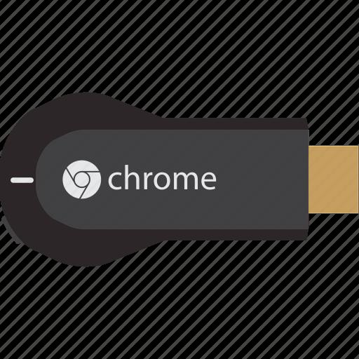 chromecast, movie, multimedia icon