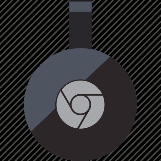 chromecast, device, google icon