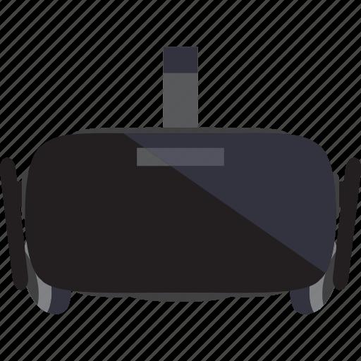 electronic, gadget, oculus, virtual icon