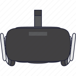 gadgets, oculus, rift, virtual icon