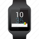 smart, smartwatch, sony, watch icon