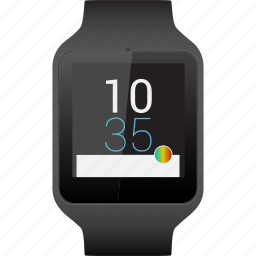 smart, smartwatch, sony, watch icon