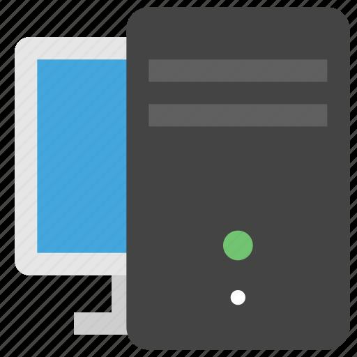 computer, desktop, display, pc, screen, tech, technology icon