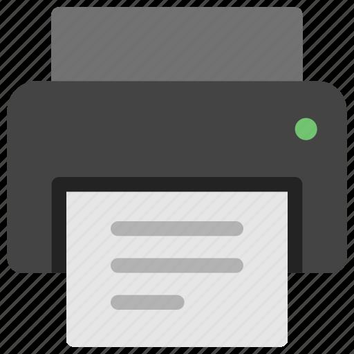 device, office, print, printer, tech, technology icon
