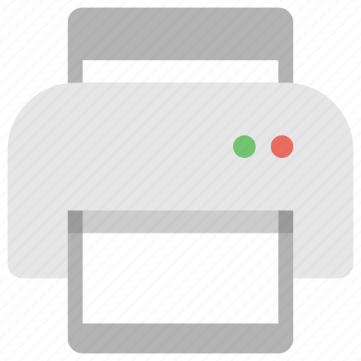 device, office, print, printer, tech, technology icon