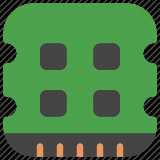 computer, data, memory, ram, storage, tech, technology icon