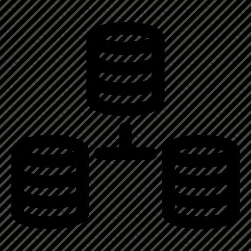 Cloud, data, database, online, server, storage, technology icon - Download on Iconfinder