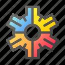 cogwheel, configuration, gear, settings, tools icon