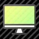 computer, desktop, hardware, laptop, monitor, screen icon