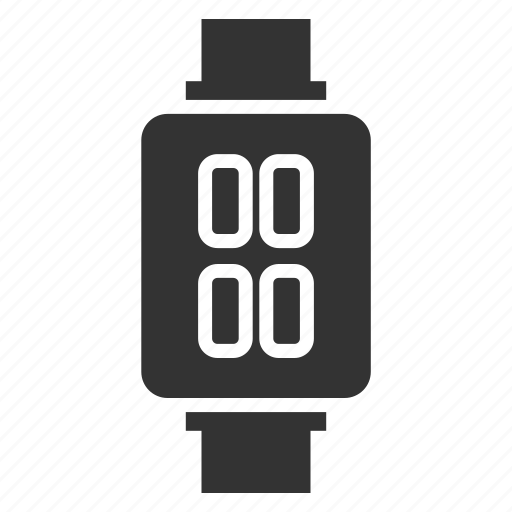 device, electronic, machine, smart watch, technology icon