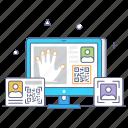 scanning, hand scanning, biometric, smart hand scanning, digital hand scanning