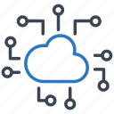 cloud, device, electronic, machine, technology