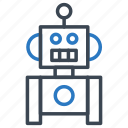 device, electronic, machine, robot, technology icon