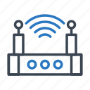 device, electronic, machine, technology, wifi icon