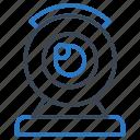 device, electronic, machine, technology, web cam icon