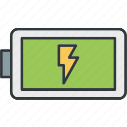battery, charging, electric, energy icon