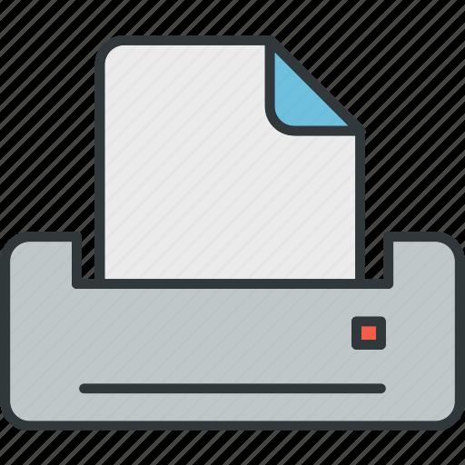direction, office, print, printer icon