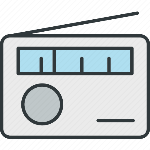 audio, fm, radio, sound icon