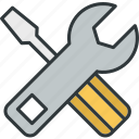 customization, service, setting, tool, work icon