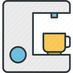 cafe, coffee, drink, machine icon