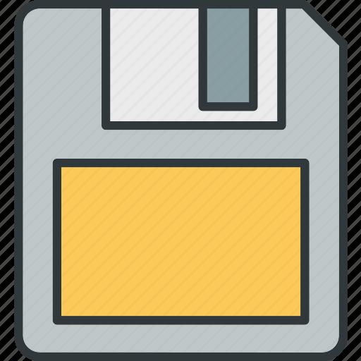 data, disk, drive, floppy, storage icon