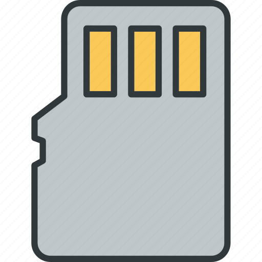 card, database, memory, sd, storage icon