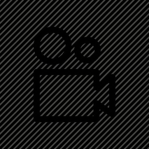 camera, computer, device, digital, movie, technology, video icon