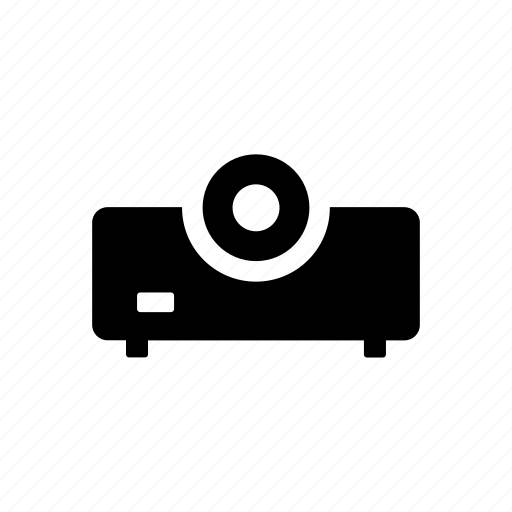 computer, device, digital, projector, technology icon