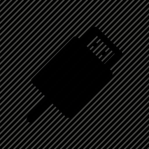 computer, device, digital, port, technology, usb icon