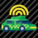 autonomous, car, future, gadget, internet, technology icon