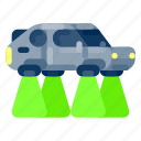 car, future, gadget, hover, internet, technology icon