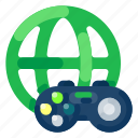 controller, future, gadget, game, internet, online, technology icon